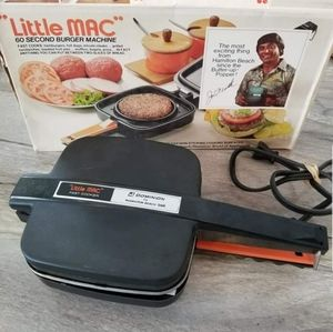 Little Mac Burger Grilled Cheese Maker